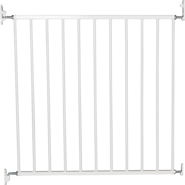 BabyDan No Trip Wall-Mounted Metal Safety Gate - White (72.5 - 78.5 cm) product