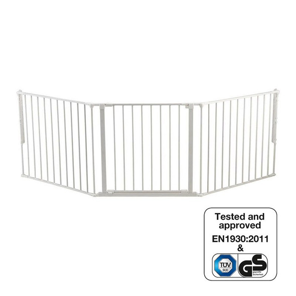 BabyDan Configure Flex Gate Large - White (90-223 cm) Babydan image 3