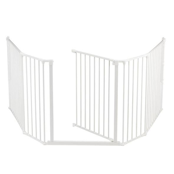 BabyDan Configure Flex XL Hearth Gate White 90-278cm Babydan image 2