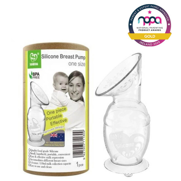 Haakaa Silicone Breast Pump with Suction Base 150ml Award 2020