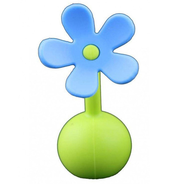 Haakaa Silicone Breast Pump Flower Stopper - Blue Main Image