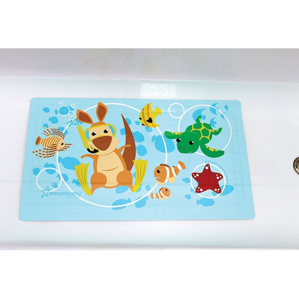 "Dreambaby® Watch-Your-Step® Anti-Slip Bath Mat With ""Too Hot"" Indicator Image 2"