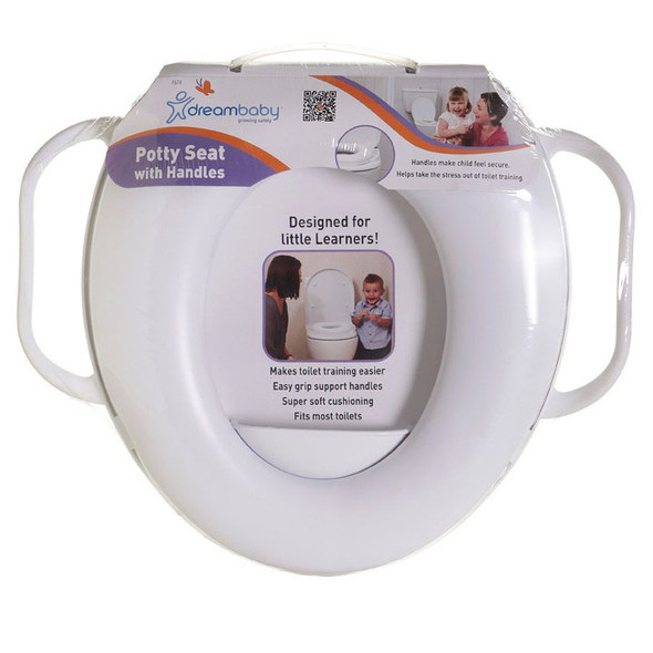 Dreambaby® Potty Seat with Handles - White Main Image