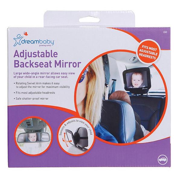 Dreambaby® Adjustable Back Seat Mirror Main Image