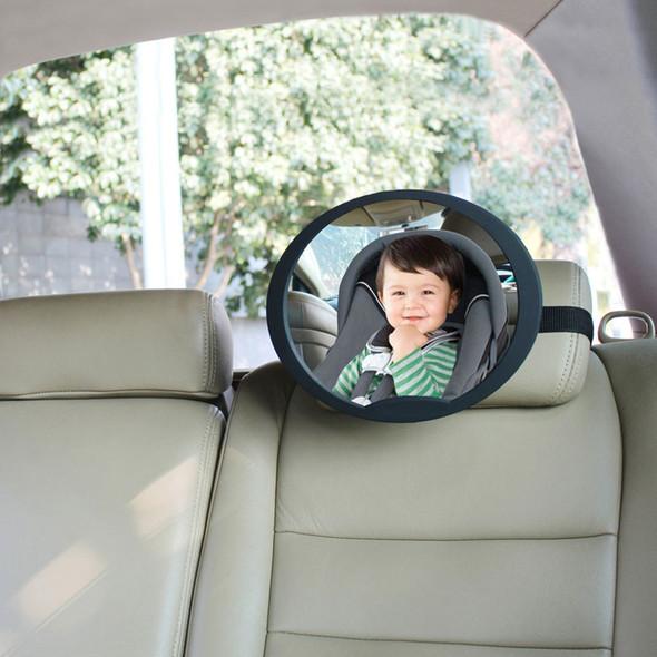 Babydan Adjustable Rear Seat Wide Angled Mirror - Large Main Image