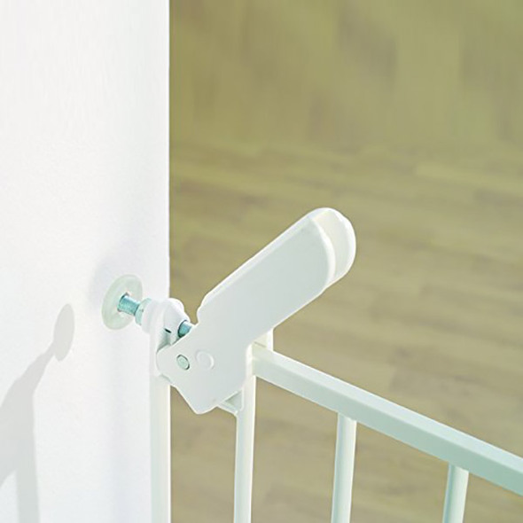 BabyDan Danamic Narrow Pressure Fit Safety Gate White (63-69.5cm) Babydan image 2