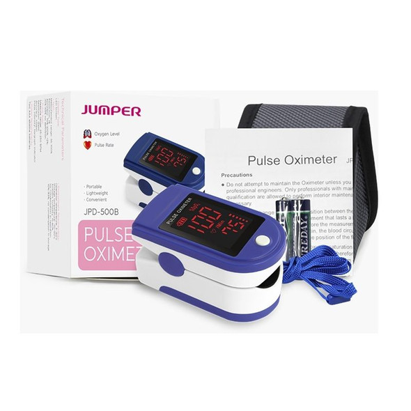Finger Pulse Oximeter - Bargraph Display box