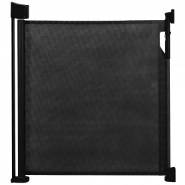 Safetots Advanced Retractable Safety Gate Black Safetots image 2