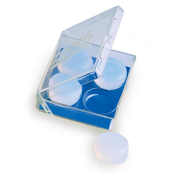Zoggs Silicone Ear Plugs Clear Main Image