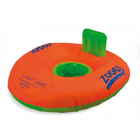 Zoggs Swimming Trainer Seat Orange/Green Zoggs  image 2