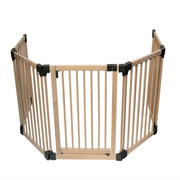 Wooden Multi Panel Multi Use Safety Barrier top