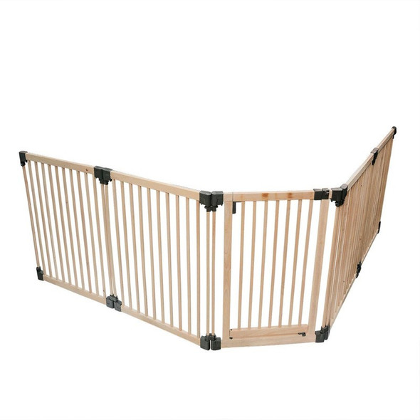 Wooden Multi Panel Multi Use Safety Barrier Side