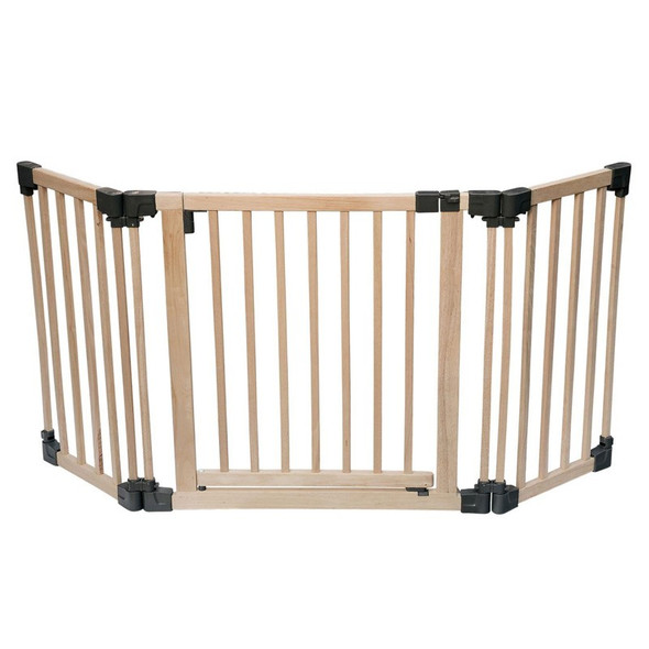 Wooden Multi Panel Multi Use Safety Barrier (96.5-176.5cm)