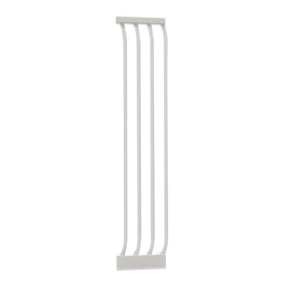 Dreambaby Chelsea 27cm Wide Gate Extension (White)