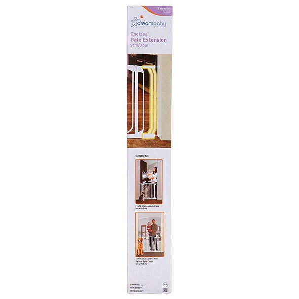 Dreambaby Chelsea 9cm Wide Gate Extension