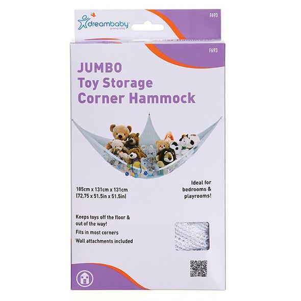 Dreambaby Jumbo Toy Storage Corner Hammock box
