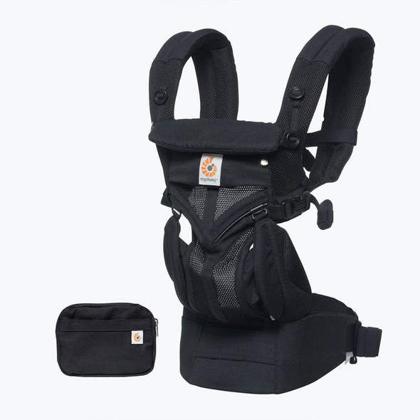 Ergobaby Omni 360 Cool Air Mesh From Newborn - Onyx Black product