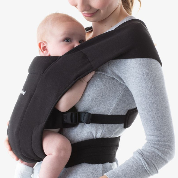 Ergobaby Embrace From Newborn - Pure Black