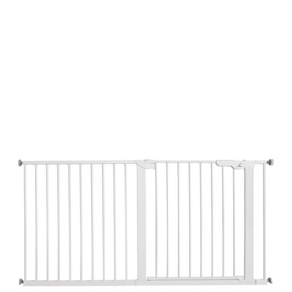 Babydan Premier Extra Wide Up To 151Cm White extended