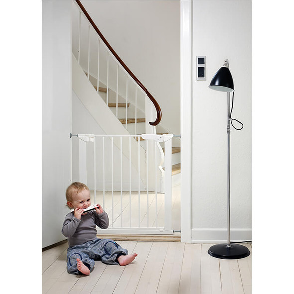 Babydan Premier Extra Wide Up To 182Cm White live