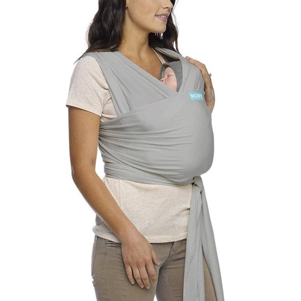 Moby Classic Wrap - Stone Grey front