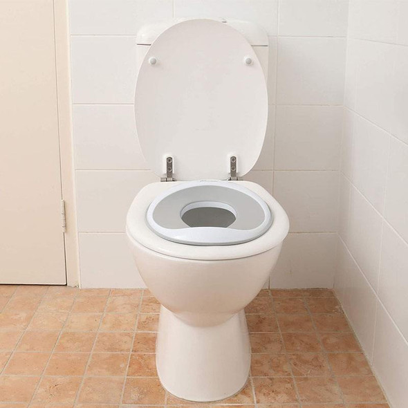 Dreambaby Ezy-Slimline Contoured Shape Toilet Trainer Seat fitted