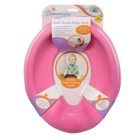 Dreambaby Foam Super Soft Feel Potty Seat - Pink