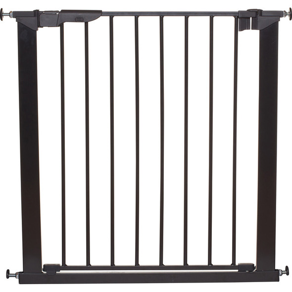 BabyDan Premier True Pressure Fit Safety Gate - Black (73.5 - 79.6cm; Max 119.3cm) Babydan image 2