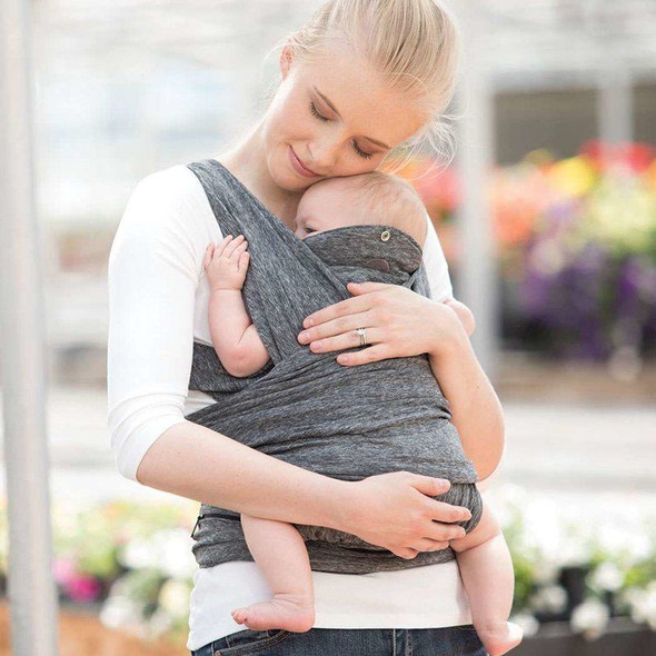 Boppy Comfyfit Baby Carrier Grey