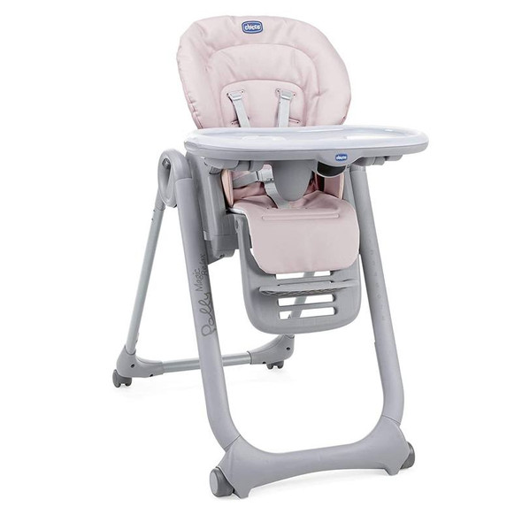 Chicco Polly Magic Relax Paradise Pink high chair