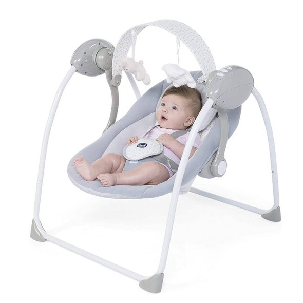 Chicco Relax And Play Electronic Swing Cool Grey