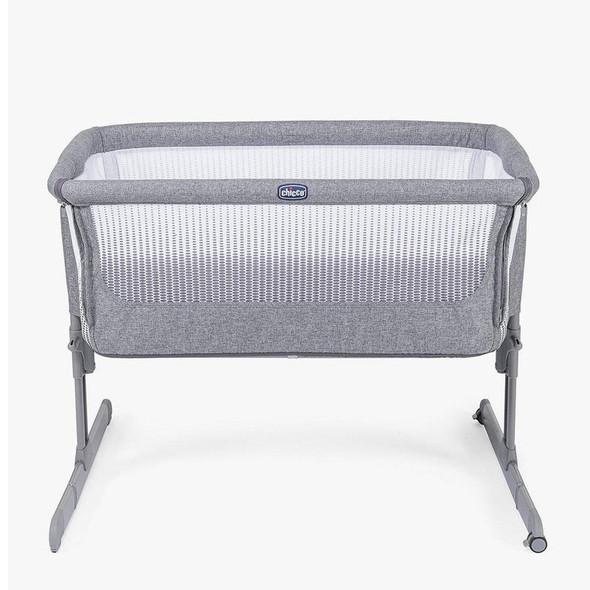 Chicco Next2Me Air Side Sleeping Crib Titanium front