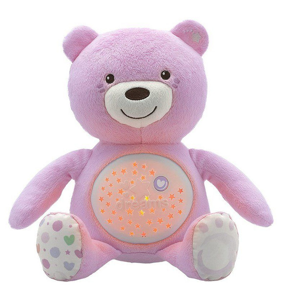 Chicco First Dreams Baby Bear Pink