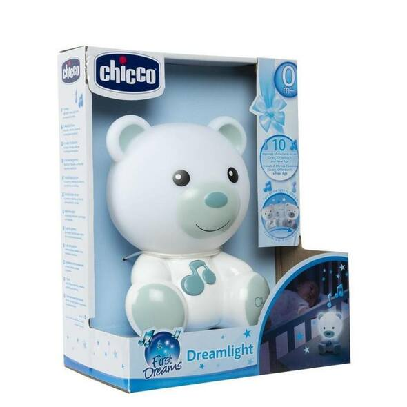 Chicco Dream Light Bear - Blue box