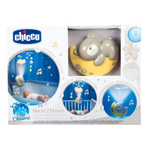 Chicco Next2Moon 3 In 1 Projector box