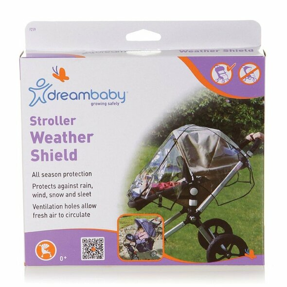 Dreambaby Stroller Weather Shields box