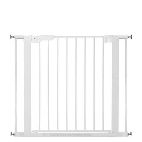 BabyDan Premier Pressure Indicator Gate, White (73.5cm - 92.6cm) | BabySafety.ie