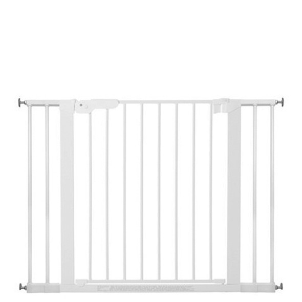 BabyDan Premier Pressure Indicator Gate, White (73.5cm - 105.6cm)  | BabySafety.ie