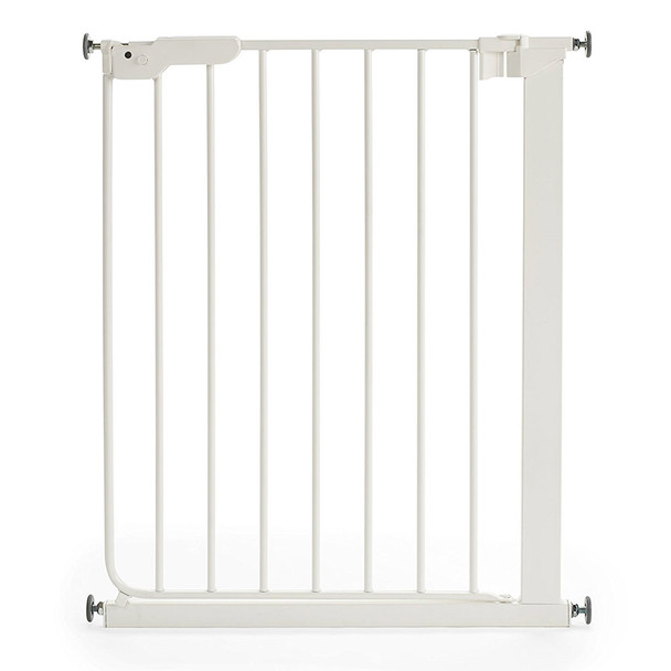 BabyDan Danamic Narrow Pressure Fit Safety Gate White (63-69.5cm) Main Image