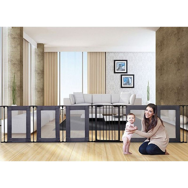 Dreambaby Brooklyn Converta Play-Pen/ Room Divider with Mesh Sides live 2