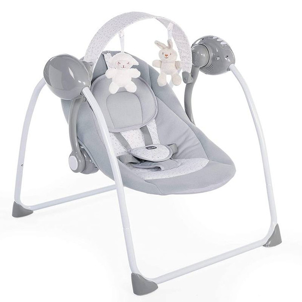 Chicco Relax And Play Electronic Swing Cool Grey product