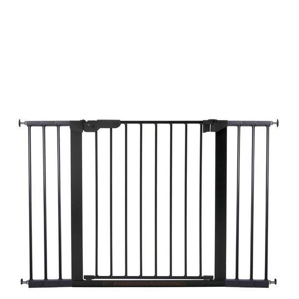 BabyDan Premier Pressure Indicator Gate, Black (73.5cm - 118.6cm) | BabySafety.ie