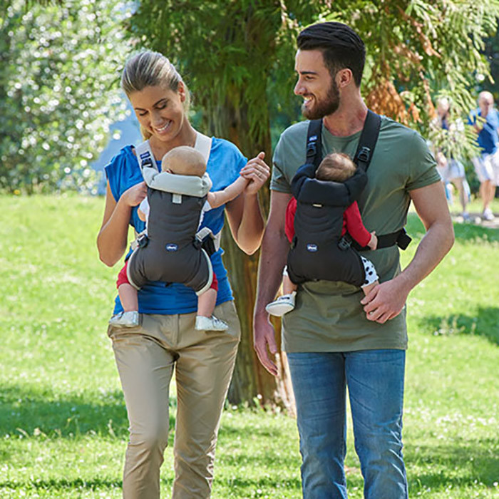 NEW CHICCO EASY FIT BABY CARRIER BLACK NIGHT
