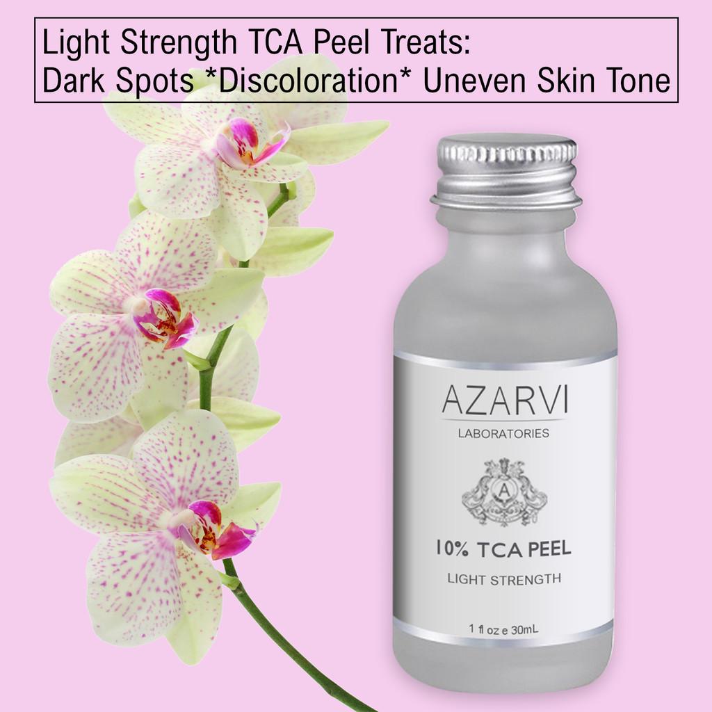 Azarvi 10% TCA Peel with Neutralizer Kit