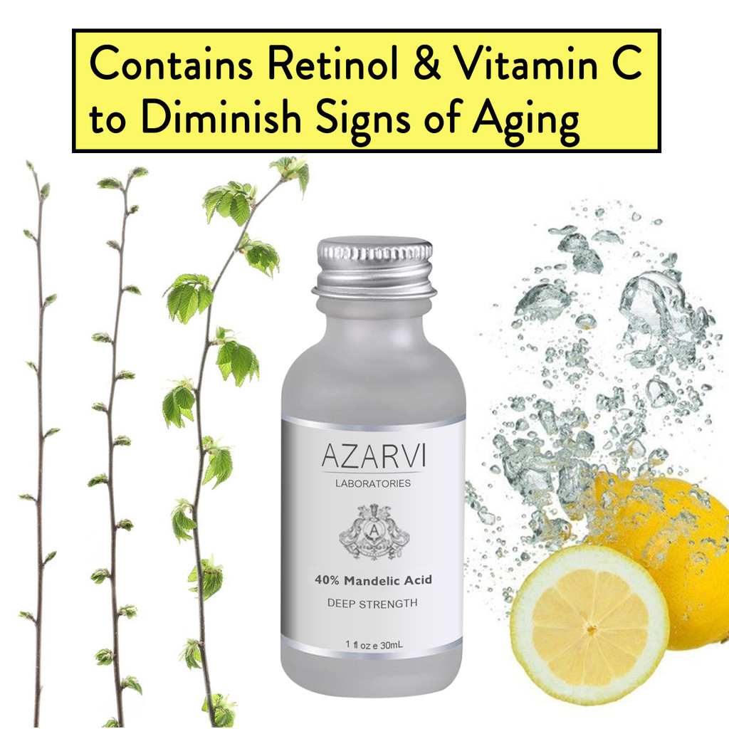 Azarvi 40% Mandelic Acid Chemical Peel with Neutralizer