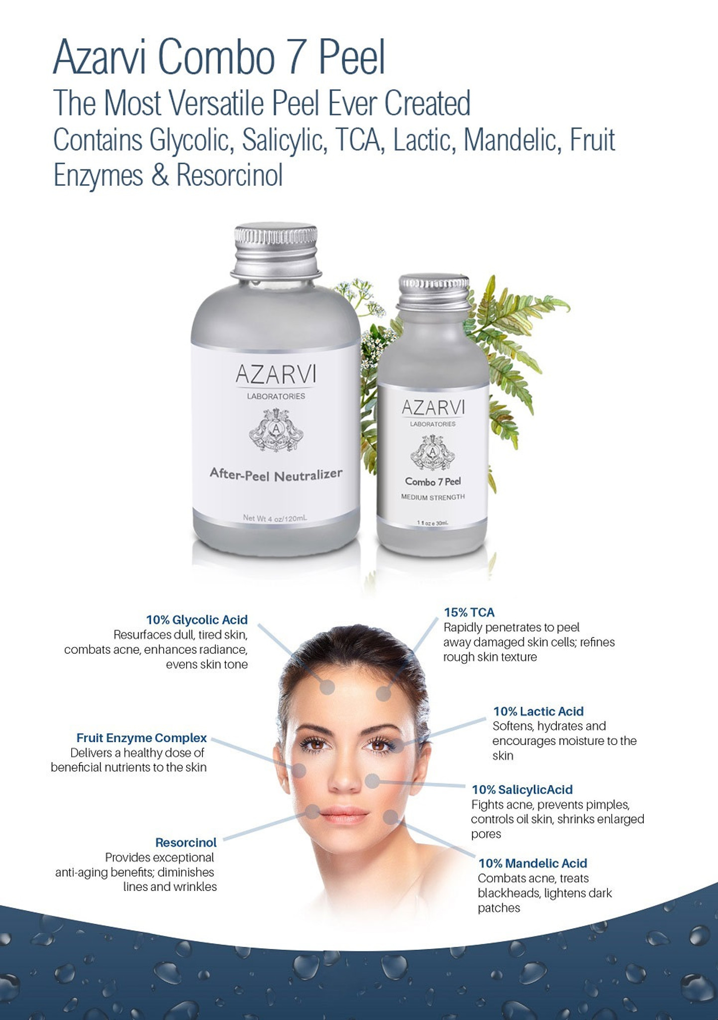 Azarvi Combo 7 Chemical Peel with Neutralizer