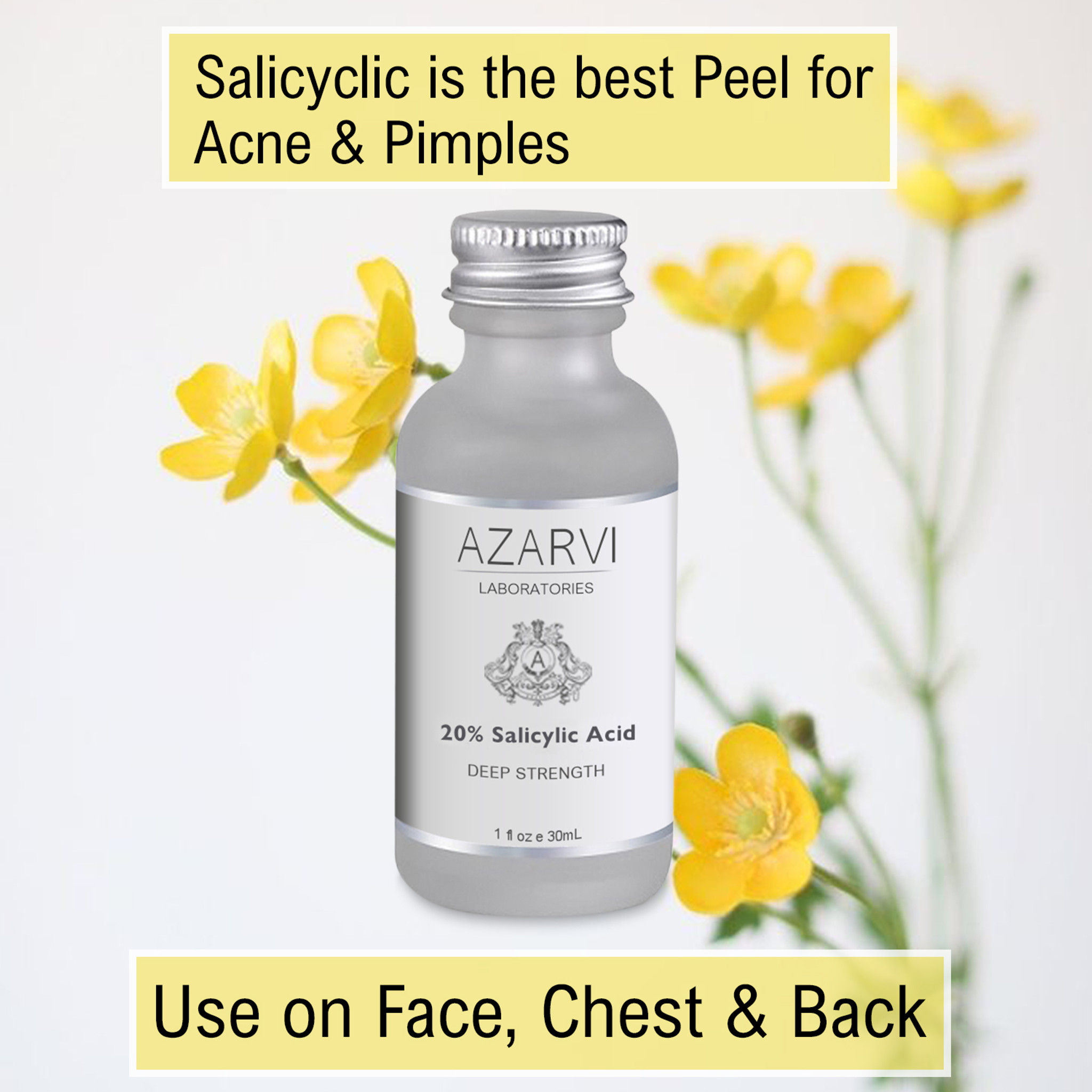 Azarvi 20% Salicylic Acid Peel with Neutralizer