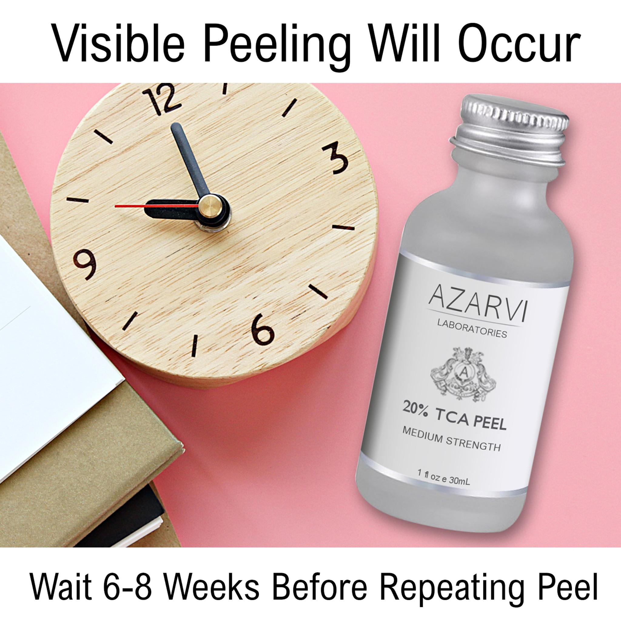 Azarvi 20% TCA Chemical Peel with Neutralizer