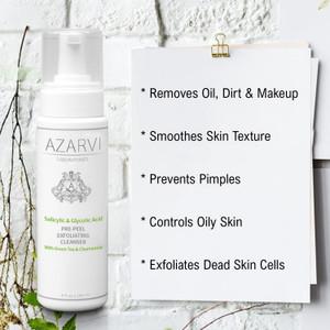 Azarvi Salicylic & Glycolic Acid Pre-Peel Cleanser