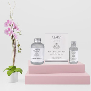 Azarvi 60% Glyco Lactic Acid Chemical Peel Kit